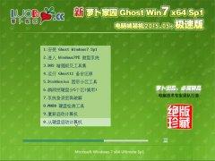 新萝卜家园 Ghost Win7 64位 官方劳动节版 2015.05