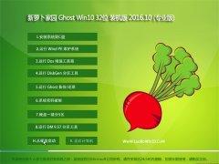 新萝卜家园Ghost Win10 X32 青春装机版V201610(自动激活)